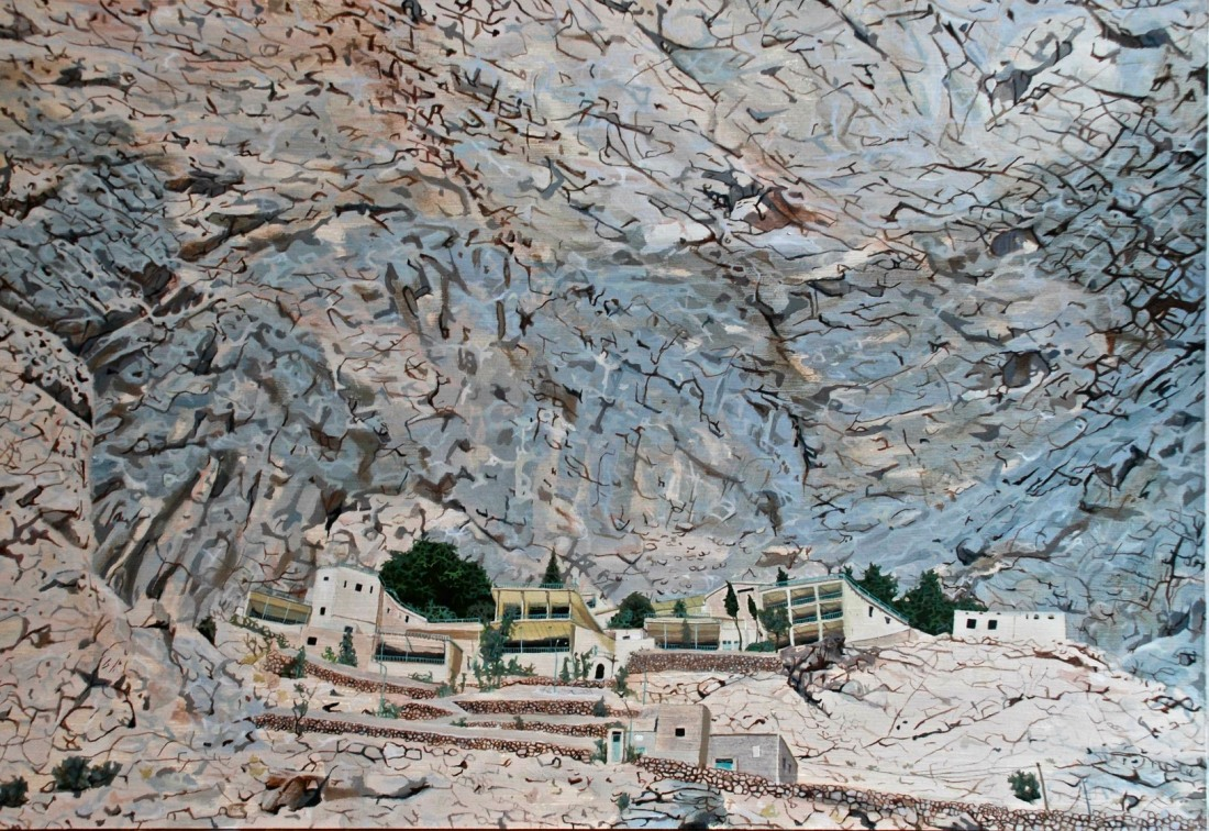 'Chak Chak', oil on board, Shortlisted for the Hennessey Craig Award 2008, Private Collection
