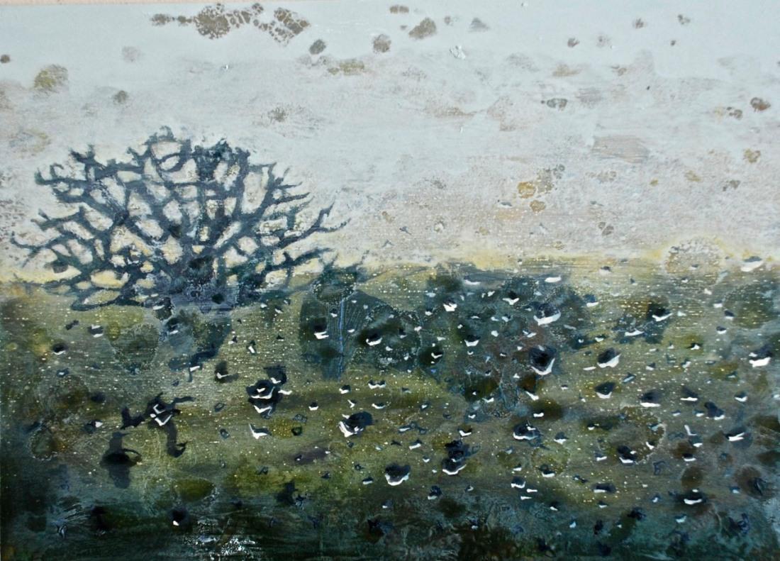 Colossal Window, oil on board, 25 x 30 cm