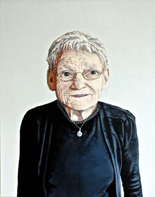 Mary, oil on canvas, 40 x 50 cm, 2012
