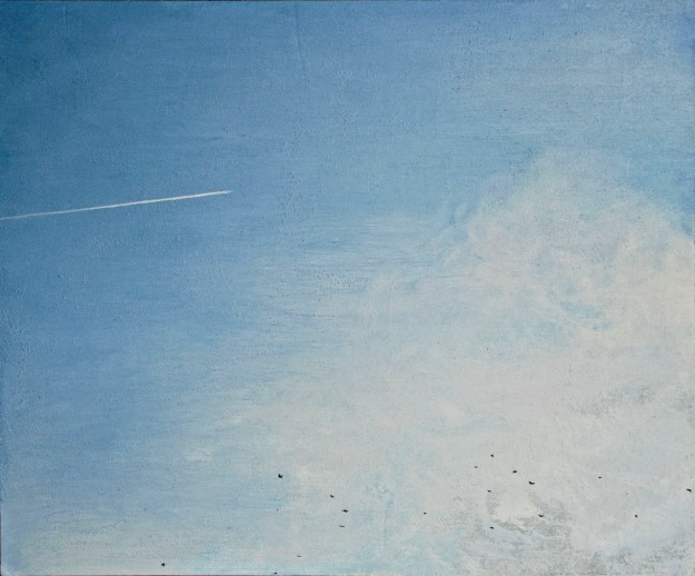 The Thousand Windowed Sky, oil on board, 32 x 39 cm, (Public Collection)