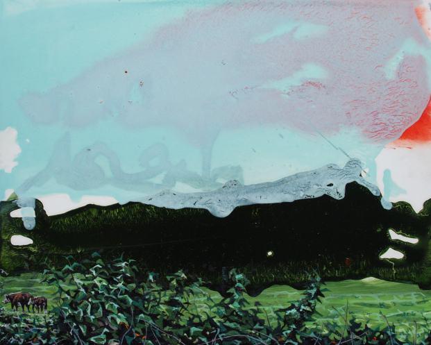 Waiting to Happen, oil on panel, 20 x 25 cm