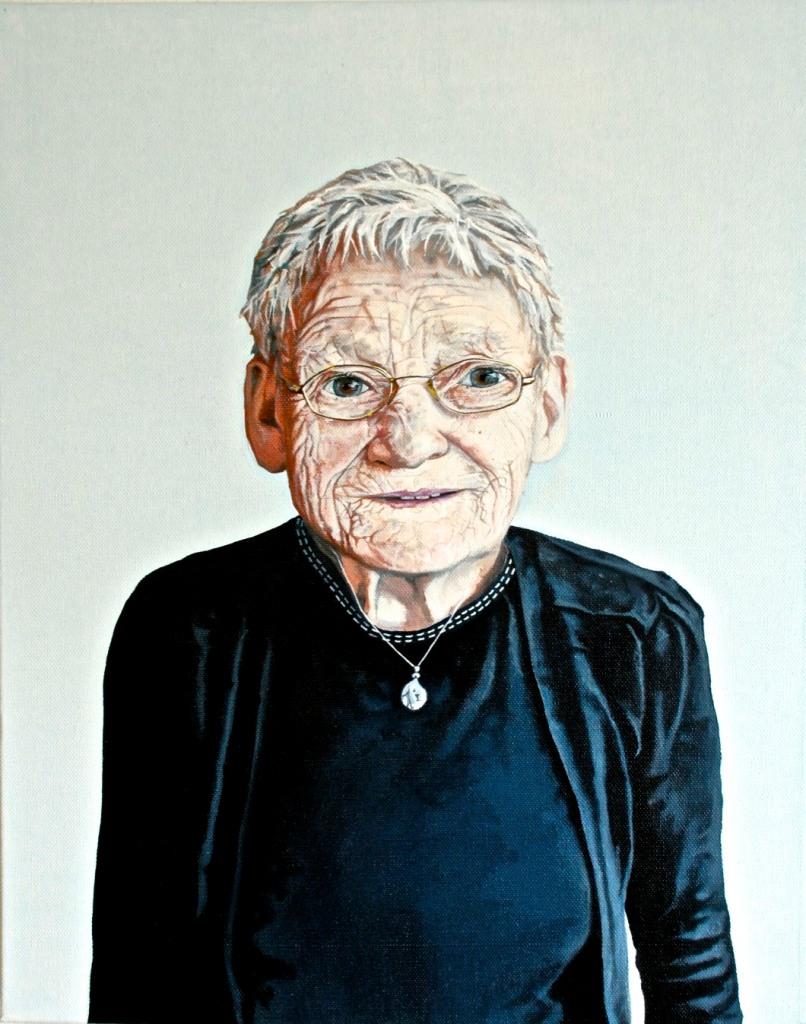 Mary, oil on canvas, 40 x 60 cm, 2012